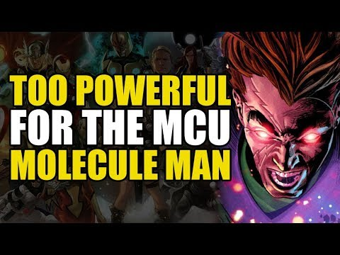 Too Powerful For Marvel Movies: Molecule Man   Comics Explained