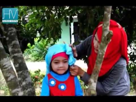 Video Cara Memakai Jilbab Untuk Anak-anak yang Unik dan Menarik - Tutorial Hijab