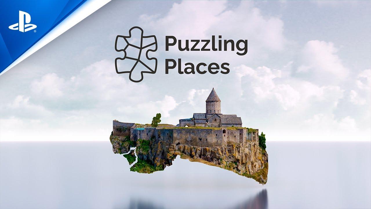 El juego de puzles en 3D, Puzzling Places, llega a PS VR