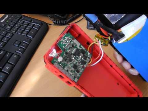 Разборка пуско-зарядного устройства CARKU E-POWER-21.