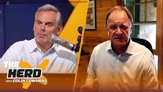 Brian Billick talks Aaron Rodgers - Green Bay dilemma, Big Ben & Steelers I NFL I THE HERD