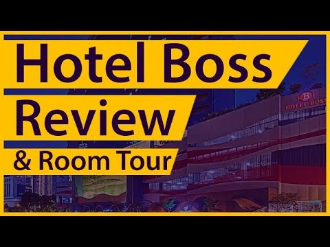 Hotel Boss is Budget Friendly Hotel with Swimming Pool in Singapore – Review & Room Tour