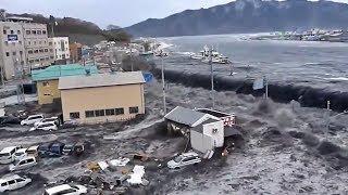 Tsunami No Japão - Miyako City Hal 【日本における津波】