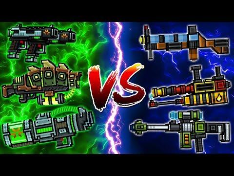 Super Mutant Set VS Blockman Set - Pixel Gun 3D