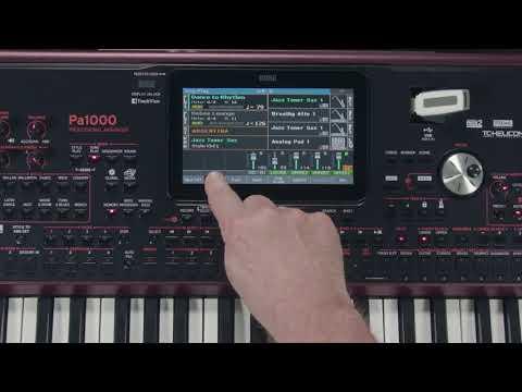 04 Pa1000 Song Play sp - KORG Latinoamérica