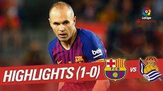 Resumen de FC Barcelona vs Real Sociedad (1-0)