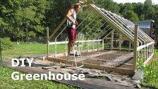 Building A Greenhouse   DIY PVC Greenhouse