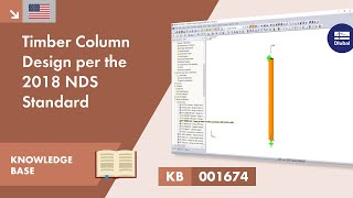 KB 001674 | Timber Column Design per the 2018 NDS Standard