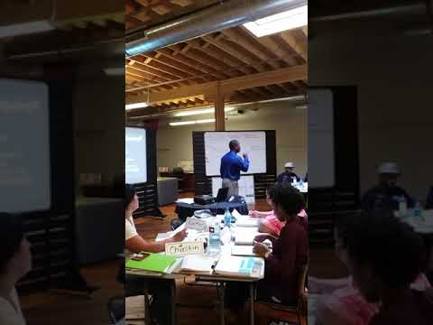 Entrepreneurship training.
