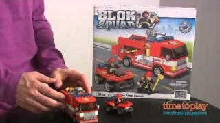 MEGA Bloks Blok Squad: Fire Patrol Rescue from MEGA Brands