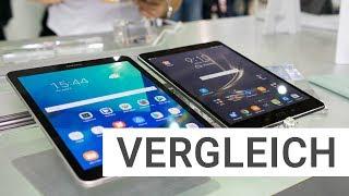 Samsung Galaxy Tab S3 vs. ASUS ZenPad 3S 10 Tablet Vergleich | Deutsch