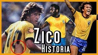 "PELÉ ARRUINÓ SU VIDA | ZICO ""El Pelé Blanco"" HISTORIA"