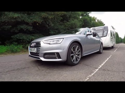 The Practical Caravan Audi A4 Avant tow car review