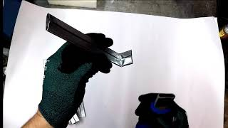 Installing drive cleat Safer with the drive cleat tool