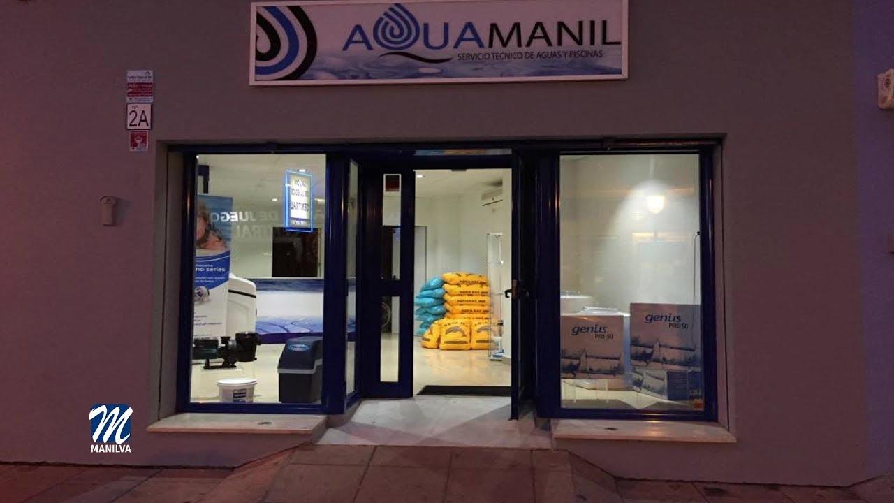 Aquamanil dona hipoclorito de sodio