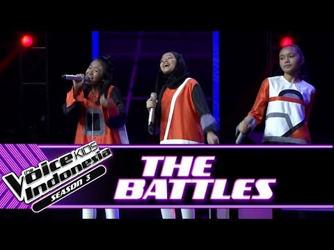 ", title : 'Ryura & Geltri & Naura ""Muda..."" | Battle Rounds | The Voice Kids Indonesia Season 3 GTV 2018'"
