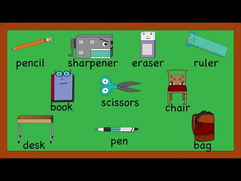 Classroom Objects ️ ️📘🖍 Divino English