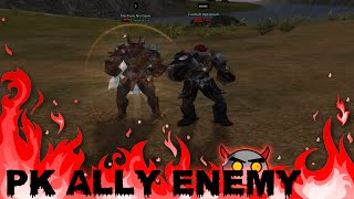 L2 Keep PK Ally ENEMY - Only tyrant (Warden x7)