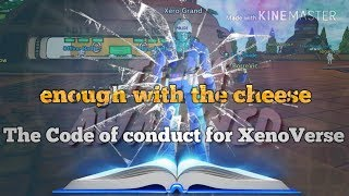 Rules legit XenoVerse players follow enough with cheap players!!!