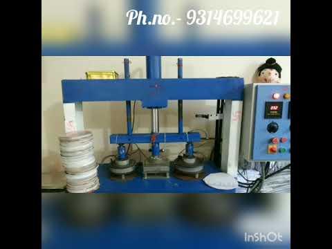 JDI Hydraulic Paper Dona Making Machine