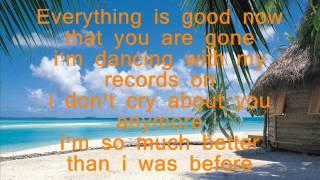 On Vacation-Aimee Allen Lyrics