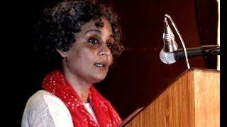 Arundhati Roy On Dr B R Ambedkar & Mahatma Gandhi   Pt 1 Of 3