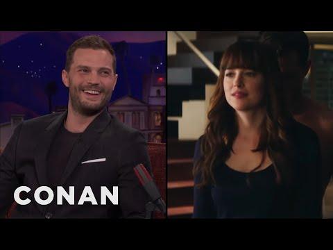 Download Dakota Johnson Taught Jamie Dornan How To Take Off Her Underwear  - CONAN on TBS HD Mp4 3GP Video and MP3