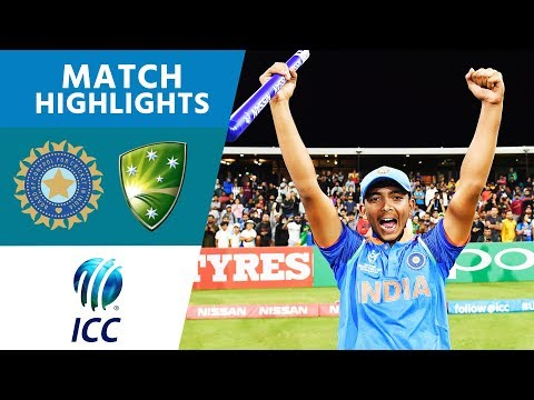 HIGHLIGHTS: India beat Australia to win the 2018 U19 Cricket World Cup