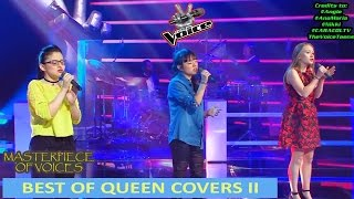 QUEEN SONG COVERS IN THE VOICE [PART 2]