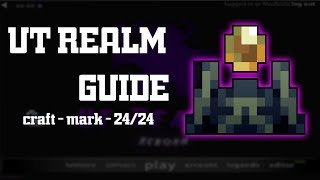Rotmg Private Server - UT Realm - Beginner Guide - Craft Guide