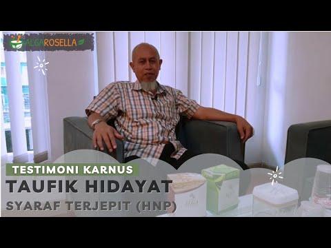 testimoni Saraf Terjepit