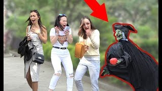 SCARY HALLOWEEN GHOST PRANK 👻 2019 - AWESOME REACTIONS - Best of Just For Laughs