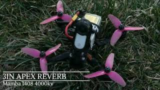 Insta360 go Fpv rippin the yard | Apex reverb 3in 4s Custom build