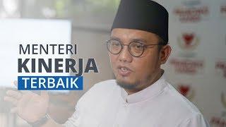 Indobarometer Umumkan Prabowo Subianto sebagai Menteri yang Kinerjanya Paling Baik