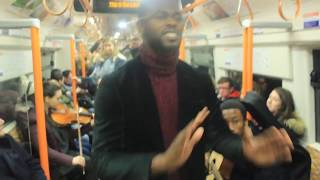 Jesus heals on London Underground in most peculiar way!