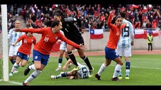 Chile 4 - 0 Argentina - Copa América Femenina 2018 - Resumen De Goles En HD