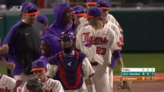 Clemson Baseball || Coastal Carolina Game Highlights - 3/13/19