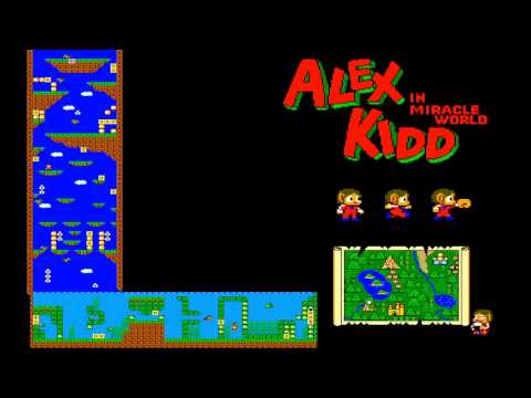 Alex Kidd  In Miracle World Remix Ost Soundtrack