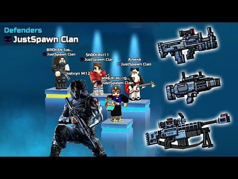 Pixel Gun 3D - JustSpawn Clan Super Winter Soldier Set Siege