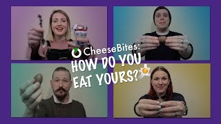 New CheeseBite online! How Do You Eat Yours?
