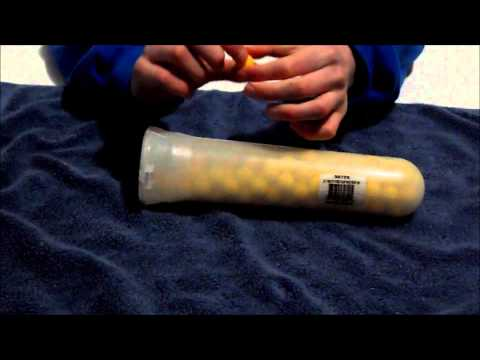 Gen X Global Z-ball (re-usable paintballs) review Carolina Nightmare Paintball