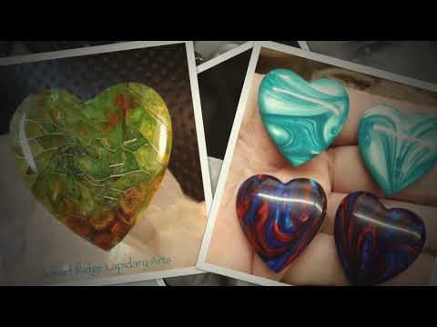 Composite Cabochons By Sunset Ridge Lapidary Arts