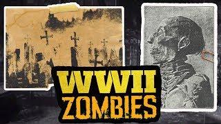 *NEW* COD WW2 ZOMBIES TEASER TRAILER, CHARACTER REVEAL & MAP STORYLINE INFO BREAKDOWN!