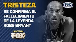 Se confirma el fallecimiento de Kobe Bryant
