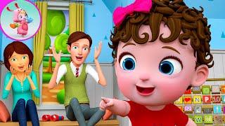 Peek A Boo Song | Baby Bubble Song Nursery Rhymes & Kids Songs