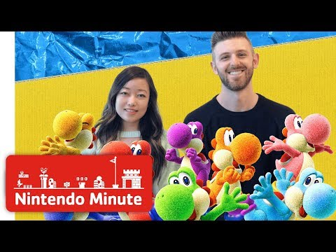 Yoshi's Crafted World Co-op Gameplay - Nintendo Minute thumbnail