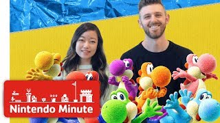 Yoshi's Crafted World Co-op Gameplay - Nintendo Minute