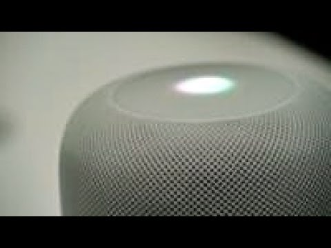 A closer look at Apple's Homepod voice-enabled speaker