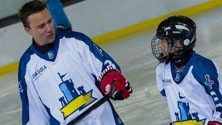 preview picture of video 'Hvězdy NHL na Hokejové škole Rytířů Kladno'