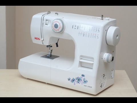 AEG NM 376 B Nähmaschine Sewing machine Швейная машина test